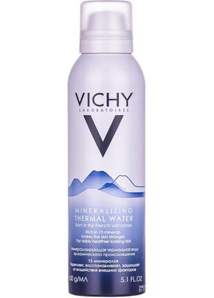 Термальная вода vichy 150 мл vichy mineralizing thermal water