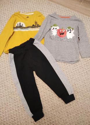Набор: кофты и штанишки на 2-3 года