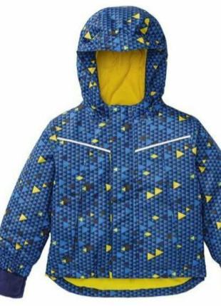 Термокуртка лыжная зимняя куртка lupilu