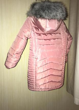 Куртка-пальто на вік 5-6 років