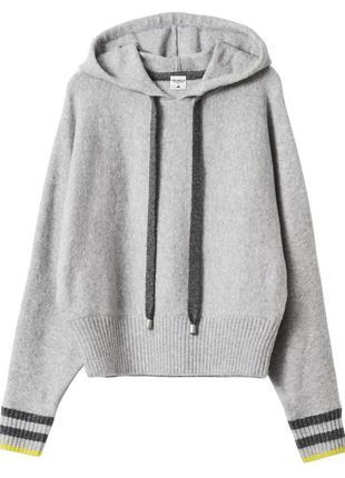 Шерстяной свитер реглан кофта свитшот  h&m с pringle of scotland