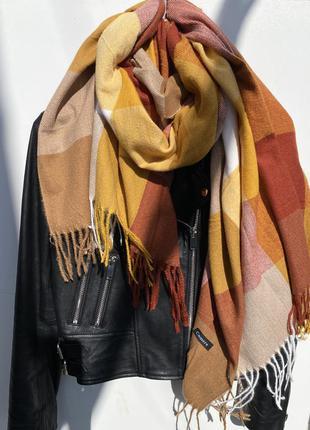 Тёплый шарфик для твоей осени ❤️🍂🍁