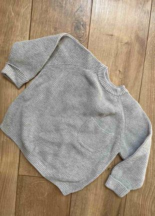 Вязаный свитер, вязаная кофта zara