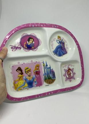 Тарелочка дисней принцессы