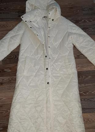 Удлинённое пальто  деми
