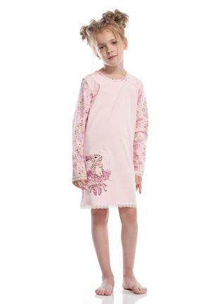 """Детская ночная рубашка из серии """"балеринки"""" от тм ellen."""