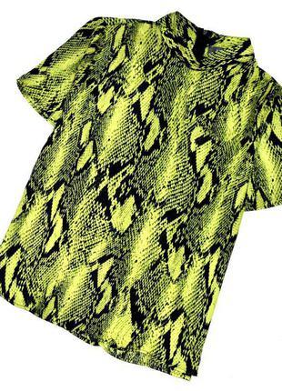 Sale primark стильная блуза в анималистический принт. 2хл. 16. 44