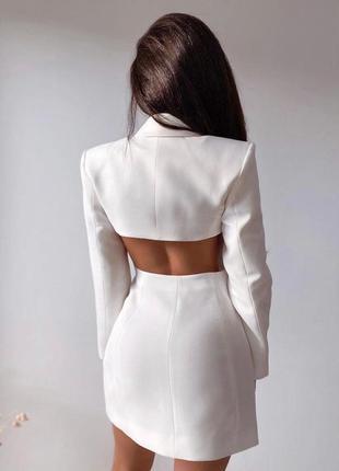 Женское платье-пиджак