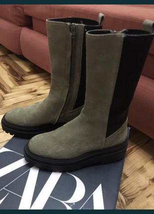 Новые ботинки zara, размер 36