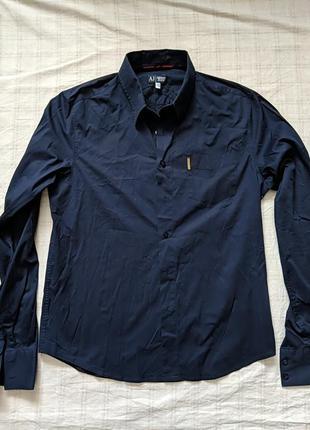 Рубашка, плечи 48, полуобхват 58, длина рукава 70, длина 70.