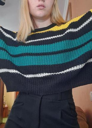 Трендовый оверсайз свитер xs sinsay