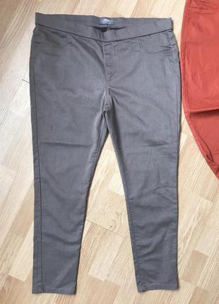 Стрейч котоновые брюки джегинсы54-56