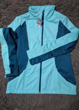 Спортивная женская куртка softshell сrivit