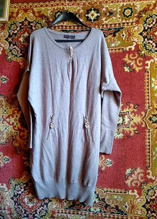 Платье туника на 48 46рр xl