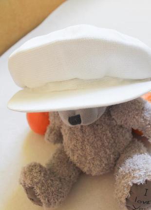 Белая кепочка размер 57 см