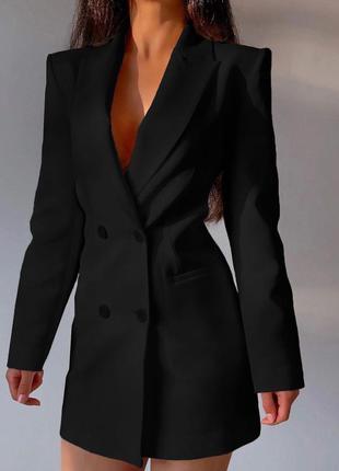 Стильное платье - пиджак