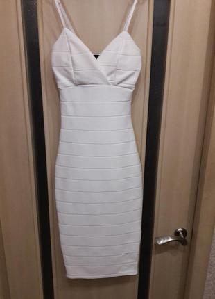Суперское бандажное платье new look