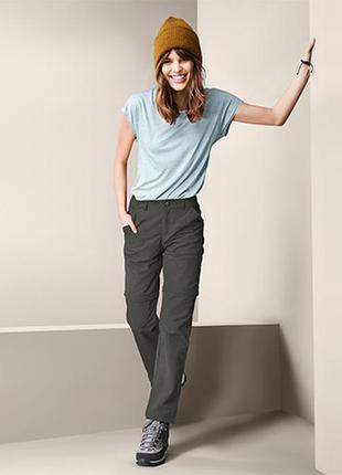 Трекинговые брюки штаны 2 в 1 германия tchibo active plus