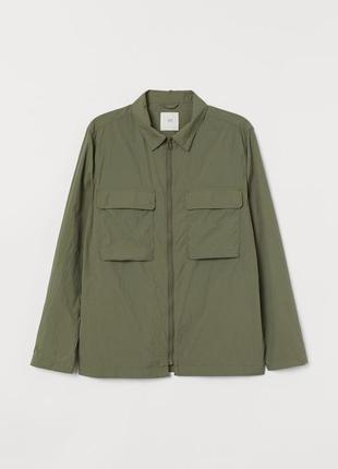 Новая нейлоновая легкая ветровка h&m бомбер куртка