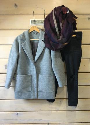 Зимнее пальто oversized
