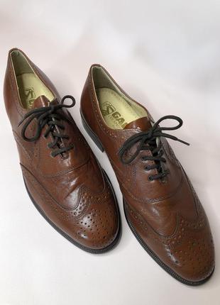 Классические кожаные туфли gallus,размер 43,5