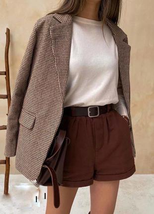 Крутой пиджачок из шерсти