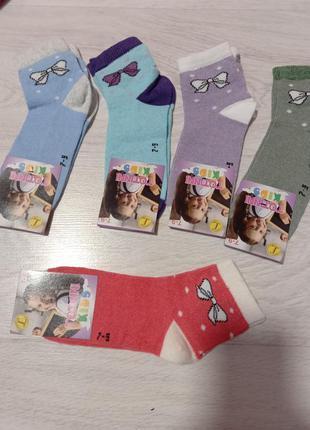 Носки детские для девочки от 3 и старше