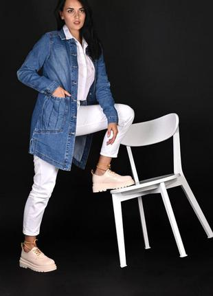 Кардиган джинсовый женский
