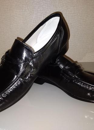 Туфли-лоферы, мокасины 100% нат.кожа бренда deer stags (usa) размер 44-44,5 на полную ногу