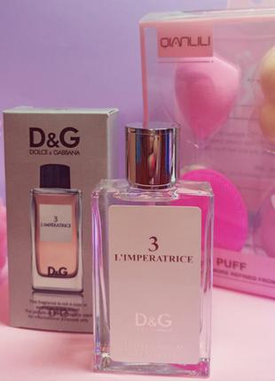 Мини парфюмерия 60 мл dolce & gabbana 3 l'imperatrice