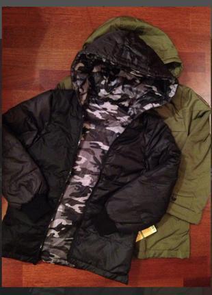 Курточка-пуховик для мальчиков gxf 2 в1