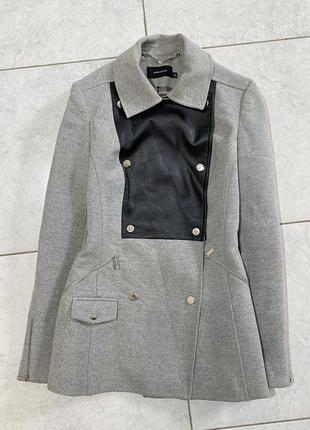 Серое пальто оригинал karen millen