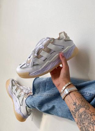 Adidas niteball 🍏 стильные женские кроссовки адидас