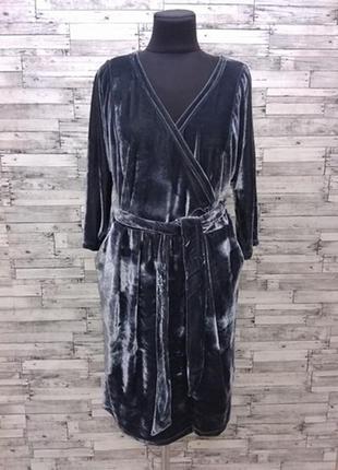Велюровое платье нм