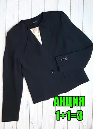 💥1+1=3 классный черный классический женский пиджак max&co, размер 46 - 48