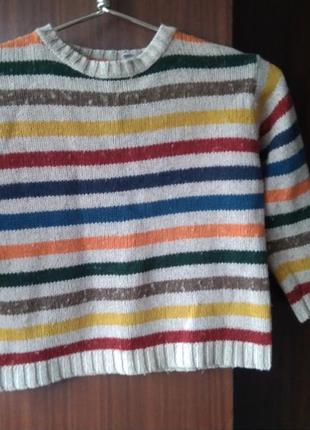 Тёплый свитер унисекс от gap