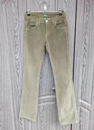 Детские вельветовые брюки united colours of benetton