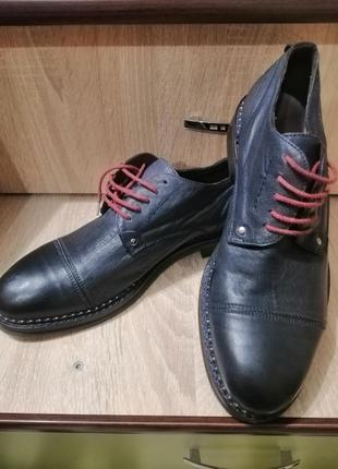 Мужские туфли vero cuoio италия