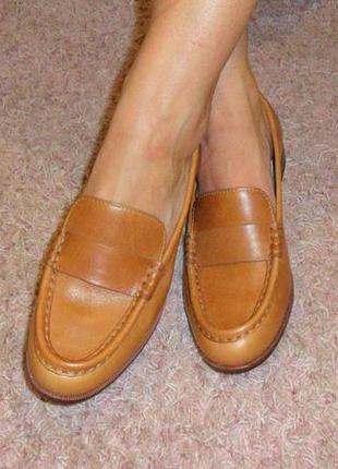 Фирменные туфли лоферы из сша - цена распродажи!!!