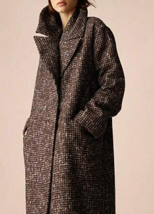 Зимнее пальто,шерсть.