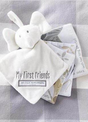 """Развивающая мягкая книжка игрушка для детей """"мои первые друзья"""" the white company london"""
