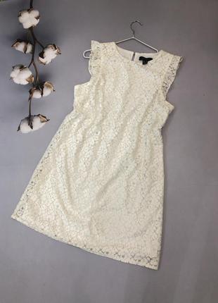 Шикарна білосніжна сукня від бренду atmosphere