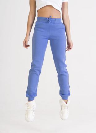 Женские спортивные штаны василькового цвета colo