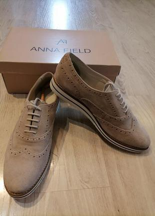 Туфли лоферы броги оригинал бренд