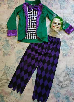 Костюм джокера карнавальный костюм на хэллоуин