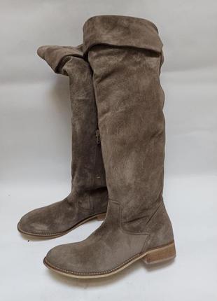 Zign сапоги высокие.брендовая обувь stock