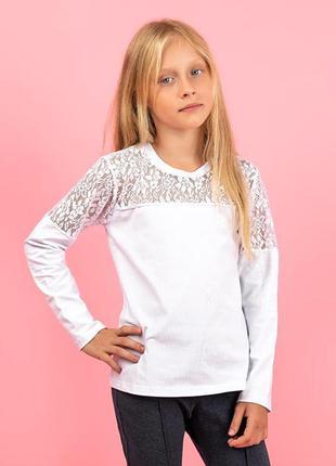 Блуза дитяча, біла