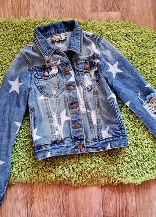 Джинсовка, джинсовая куртка, джинсовый пиджак