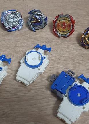 Коллекционные beyblade с механизмами запуска