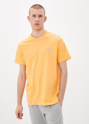 Чоловіча футболка adidas originals loungewear essential tee gn3401 (m/xl) - оригінал